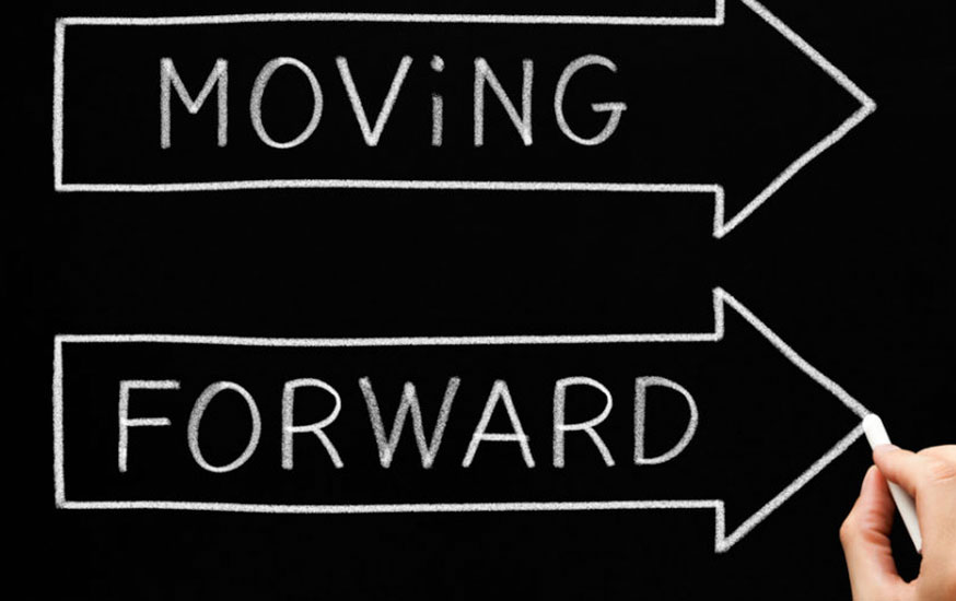 Moving Forward Image