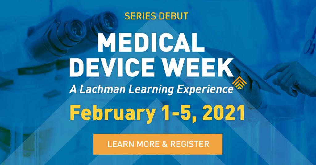 Medical Device Week Image