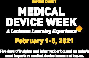 Medical Device Week Hero Text